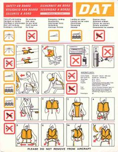 DAT Safety On Board | Safety Instructions