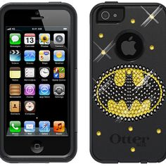 Purchase Swarovski Crystal Otterbox Commuter Series Case Cover for iPhone 5 / (Batman) from Luxe on OpenSky. Share and compare all Electronics. Cool Cases, Cute Phone Cases, 5s Cases, Iphone 5s, Iphone Cases, Clock Games, Batman Birthday, Gadgets And Gizmos, Iphone Accessories
