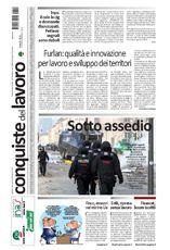 Prima pagina di Conquiste del 19 marzo 2015