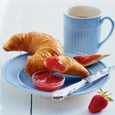 Erdbeer-Feigen-Fruchtaufstrich