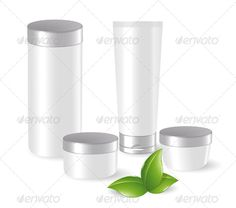 Cosmetic Containers ...  beauty, bio, blank, bottle, care, clean, container, cosmetic, cream, eco, fluid, green, healthcare, hygiene, leaf, lid, liquid, lotion, moisturizer, pack, packaging, plastic, pure, set, shampoo, skin, template, toothpaste, tube, white