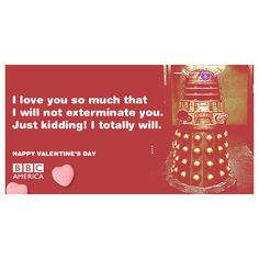 Love for geeks!