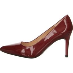 Unisa Tola Pumps in rot jetzt günstig bei Salamander shoppen Pumps, Heels, Salamander, Tola, Elegant, Berry, Fashion, Leather, Heel