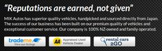 Authentic #MotorVehicleTrader In New Zealand - #MIKAutos goo.gl/xQHDJy