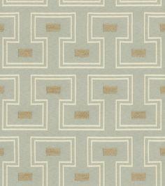 Liz Claiborne Upholstery Fabric Wyatt Sky,  $22.50