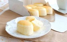 Steamed Double-Cheese Cake #OYSHEE #japanese
