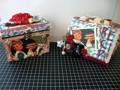 ILuvVintageScrap: Domestic Goddess Recipe Mini Album & Box