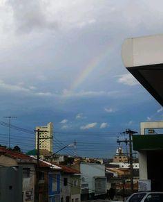 Arco iris em São Paulo