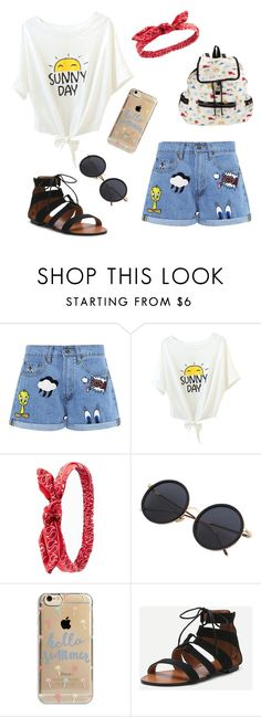 """""""Happy Days"""" by nineties-wallflower ❤ liked on Polyvore featuring Paul & Joe Sister, Charlotte Russe, Agent 18 and LeSportsac"""