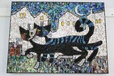 Cats Mosaic