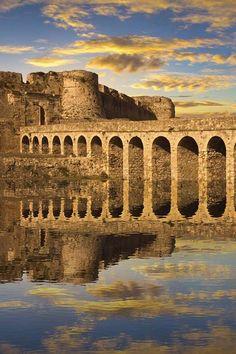 The Venetian fortress at Methoni, Greece.