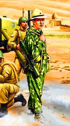 Soviet Spetsnaz KGB  Border Guard in Afghanistan