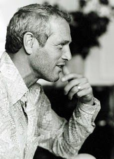 Paul Newman. Because to date no other male actor has been able to come close to matching his absolute handsomeness