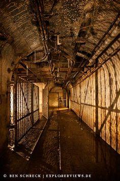 The Maginot Line - underground bunkers - Photos by Ben Schreck