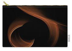 Carry-all Pouch featuring the digital art Sandstorm by Elena Ivanova IvEA #ElenaIvanovaIvEAFineArtDesign #Decor #Gift #CarryAllPouches