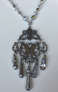 A personal favorite from my Etsy shop https://www.etsy.com/listing/524451431/silver-czech-glass-crystals-vintage