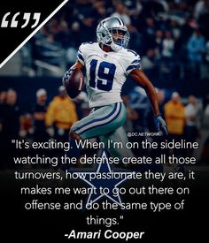 "Dallas Cowboys Fanpage on Instagram  ""Amari Cooper says this is the most  fun he s had as a pro playing football  amaricooper9"