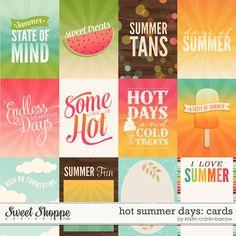 Hot Summer Days: Cards by Kristin Cronin-Barrow