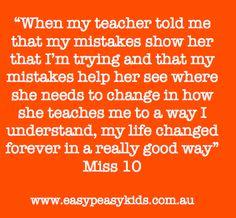 mistakes ....