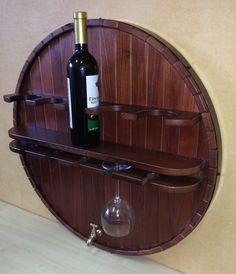 Полка навесная для хранения вина HP-001. Цены снижены.