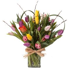 30 Tantilizing Tulips. Find them at Soderberg's Floral and Gift