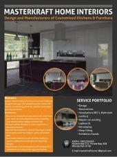 Masterkraft Home Interiors_A Interior Work, Kitchen Interior, High End Kitchens, Interiors, Modern, Home, Design, Trendy Tree, Ad Home