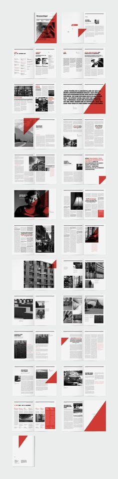 Layout Strassenfeger Visual Identity and Editorial Design Architectural Design Architectural Design brochure Design Editorial identity layout Strassenfeger VISUAL Editorial Design Layouts, Magazine Layout Design, Book Design Layout, Graphic Design Layouts, Print Layout, Booklet Design, Magazine Layouts, Graphisches Design, Buch Design