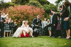 We love seeing the bride and groom let loose on their big day | Samuel Docker Photography