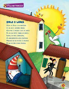 """Filastrocca """"Sole e luna"""""""