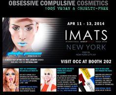 IMATs New York April 11-13. http://www.OCCmakeup.com