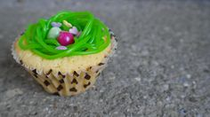 Toll: Lapizulis Osternest-Cupcake!
