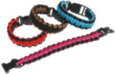 Para Cord Bracelets Case Pack 4