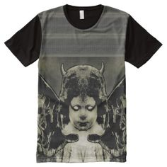 Full Print Dark Angel Shirt - tap, personalize, buy right now! Unique Art, Shirt Style, Your Style, Shirt Designs, Tee Shirts, Angel, Dark, Mens Tops, Stuff To Buy