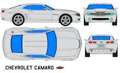 Bumble-Bee Camaro SS template - Google Search