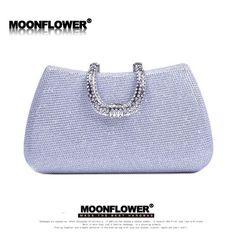 Fashion Clutch Tote Diamonds Evening Bags Gold Chain Women Bag Wedding Party Shoulder Bags Famous Brand Ladies Wallet Purses