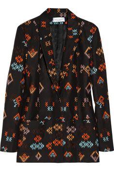 Paul & Joe Guepard embroidered linen jacket