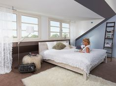 Interieur ideeën dakkapel attic bedrooms and kids rooms