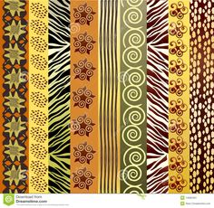 african plaid fabric - Google Search