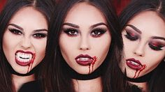 vampire makeup - YouTube