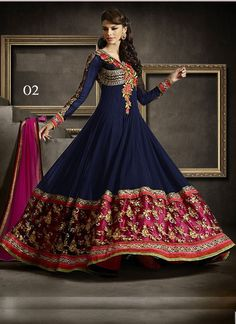 For more detail Contact us at:- Phone: +91-9574008881, +91-9574008882 Email: support@vandvshop.com https://www.vandvshop.com/new-arrivals/vandv-fabulous-heavy-embroidered-navy-blue-floor-length-anarkali-suit-5684  VandV Fabulous Heavy Embroidered Navy Blue Floor Length Anarkali Suit Rs2,999  Price in reward points: 1000 BOTTOM FABRIC: Santoon DUPATTA FABRIC: Nazneen INNER FABRIC: Santoon STYLE: Anarkali Suit FABRIC: Georgette WORK: Embroidered COLOUR: Blue OCCASION: Party, Festival…