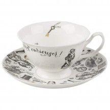V&A Alice in Wonderland Tea Cup and Saucer