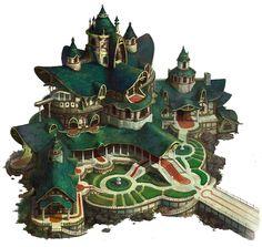 ArtStation - Castle of elf, hee uk Jung