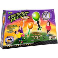 Poof Strato Slam Rocket Battle Blast, Multicolor