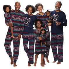2d7f7f5a8a Jammies For Your Families Gingerbread Man Holiday Matching Pajamas Family  Christmas Pajamas