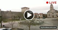 Live view from #Svetvinčenat, #Croatia. #webcam #travel