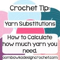 Yarn Substitutions