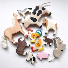 one of each please! wood animals in the shop enjoy!