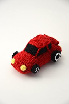 Race Car - Racecar - Car - Sports Cars - Amigurumi Toy - CROCHET PATTERN No.62