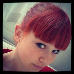 Verry red hair