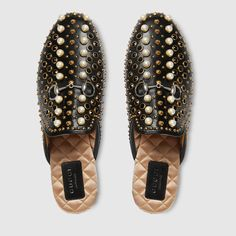 Princetown studded leather slipper $ 1,450